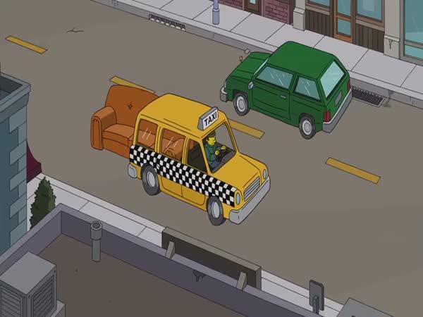 Simpsonovi - Nový gaučový gag