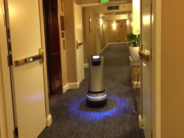 Robotická pokojová služba