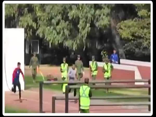 Pořádný vojenský výcvik v Chile