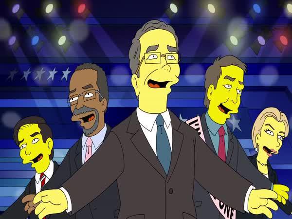 Simpsonovi - Prezidentští kandidáti
