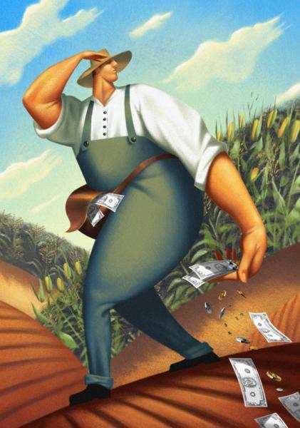 GALERIE - Ilustrace o penězích