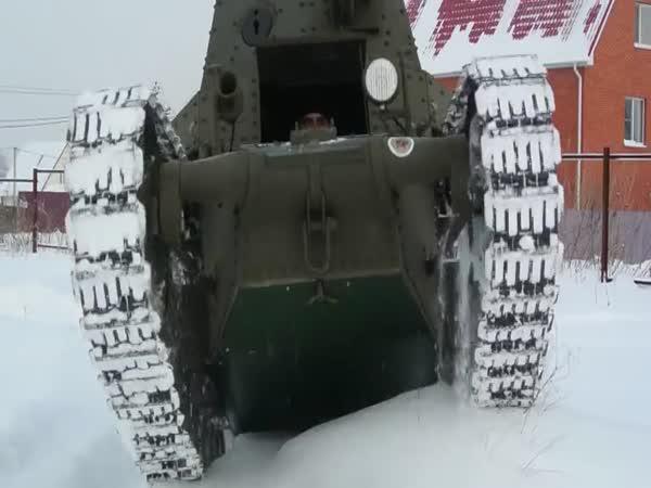 Jak se vyrábí malý tank