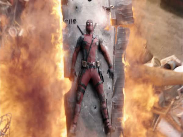 Deadpool - Točení nebezpečných scén