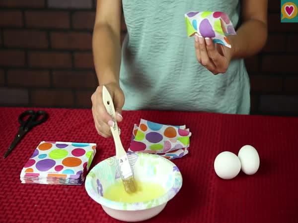 Jak originálně obarvit velikonoční vajíčka