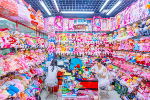 GALERIE - Ráj čínských obchodů