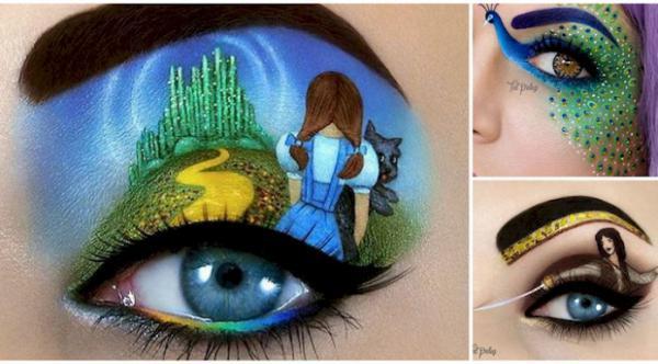 GALERIE - Malby na oční víčka