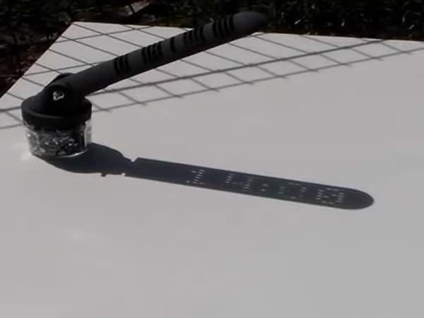 Sluneční digitální hodiny