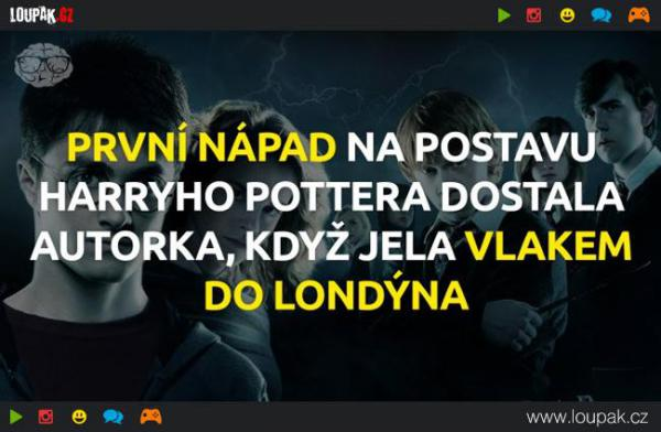 GALERIE - 10 faktů o Harry Potterovi