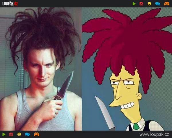 GALERIE - Lidé, vypadající jako Simpsonovi