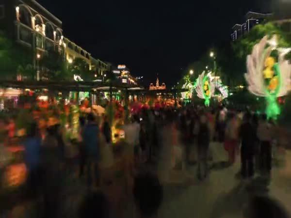 Timelapse - Vietnam (Hočiminovo město)