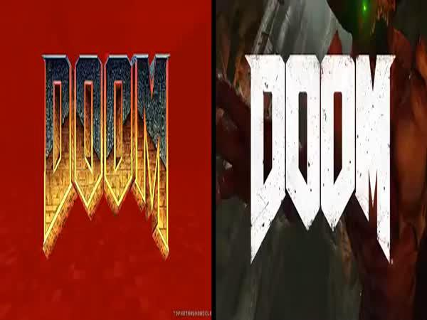 Srovnání - DOOM (1993) vs. DOOM (2016)