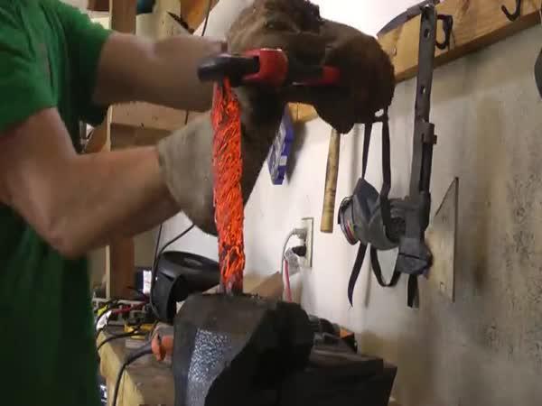 Jak vyrobit nůž z ocelového lana