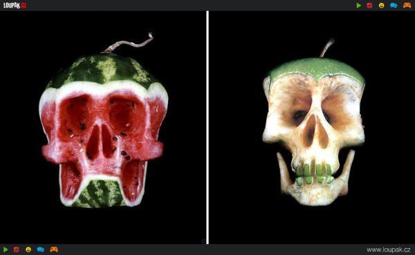 GALERIE - Lebky z ovoce a zeleniny
