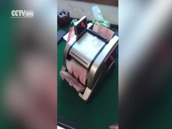 Čínský počítač peněz
