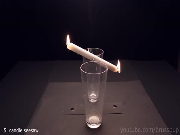Úžasné triky s ohněm