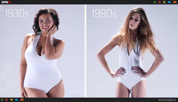 GALERIE - Jak se měnil ideál ženské krásy