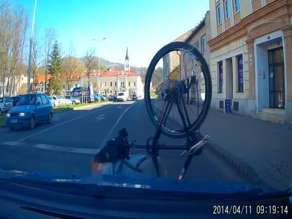 Slovensko - Cyklista & přechod
