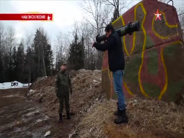 RPG-28 proti železobetonu