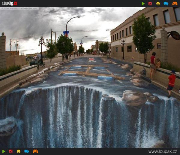 GALERIE -  3D pouliční kresby