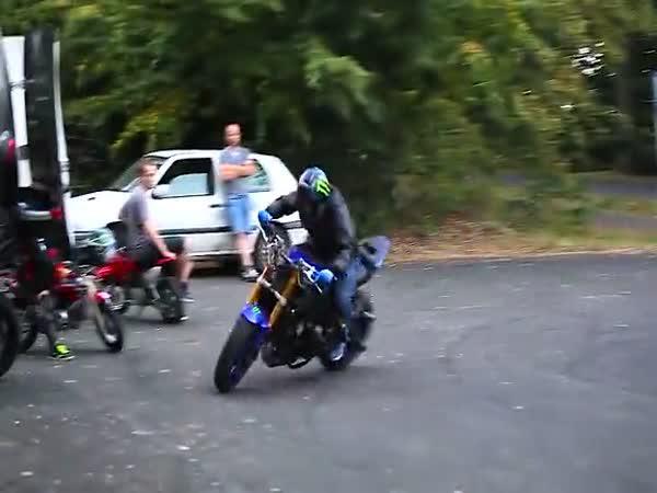 Úžasné kousky na motorce