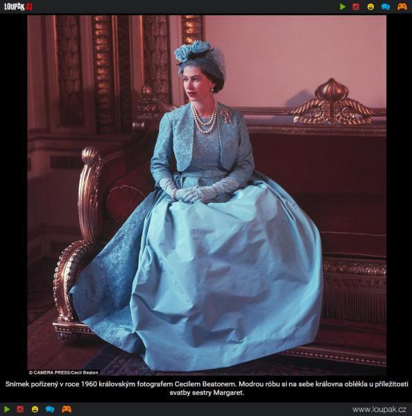 GALERIE - Ze šatníku Alžběty II.