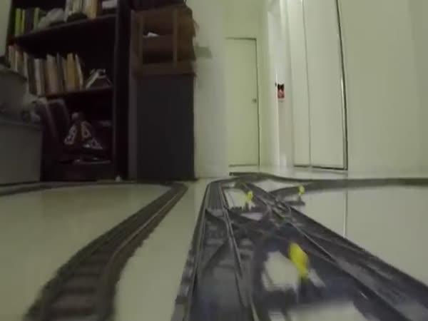 Úžasná LEGO železnice