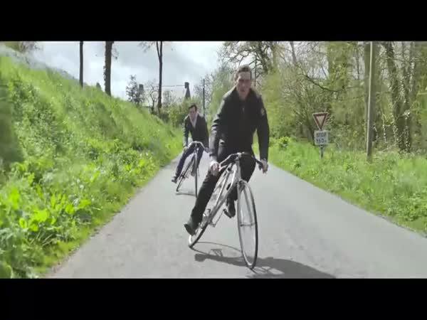 Nový styl ježdění na kole