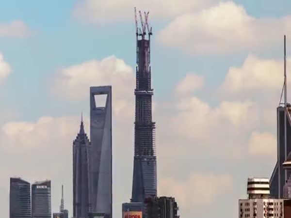 Timelapse - 2. nejvyšší budova světa