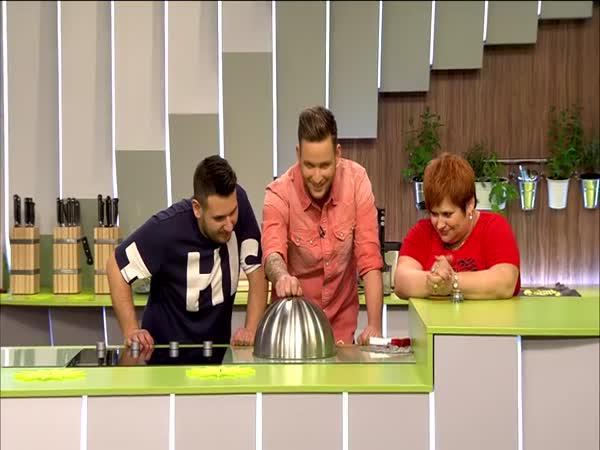 Překvapení v maďarské kuchařské show