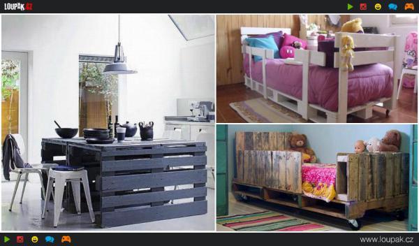 GALERIE - Luxusní nábytek z palet