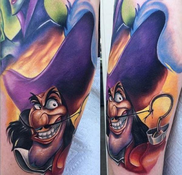 GALERIE - Nejkrásnější Disney tetování