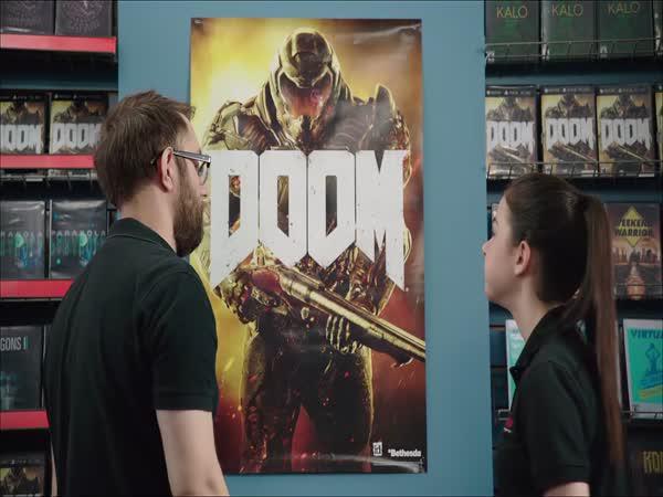 Reklama - Co je s policí? (Doom 2016)
