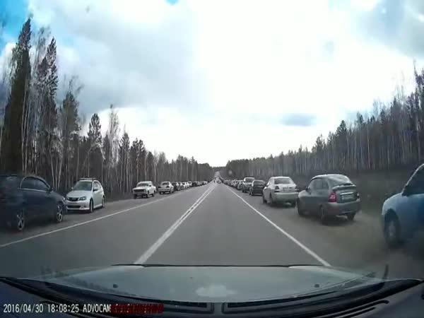 Rusko - Nelegální závody