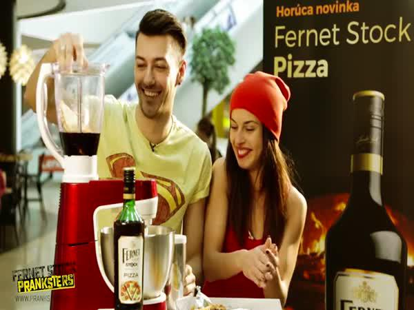 Nachytávka - Fernet Stock pizza