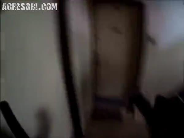 Česká republika - Muž v hořícím bytě