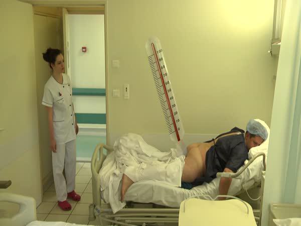 Nachytávka - Den v nemocnici