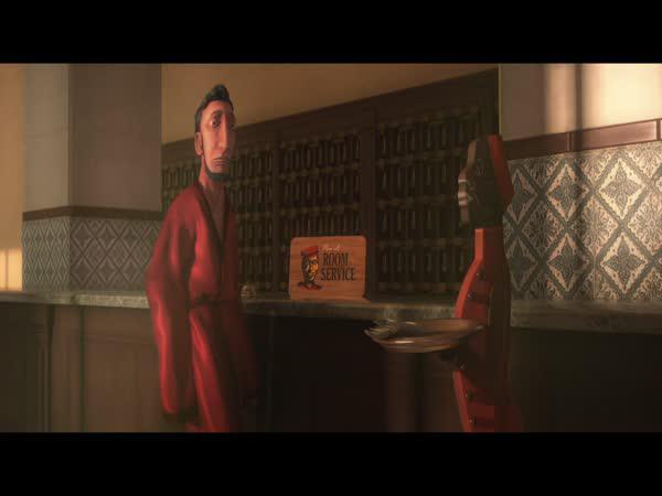 Animace - Pokojová služba