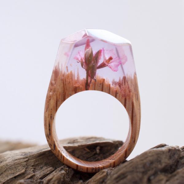 GALERIE - Úžasné dřevěné prsteny