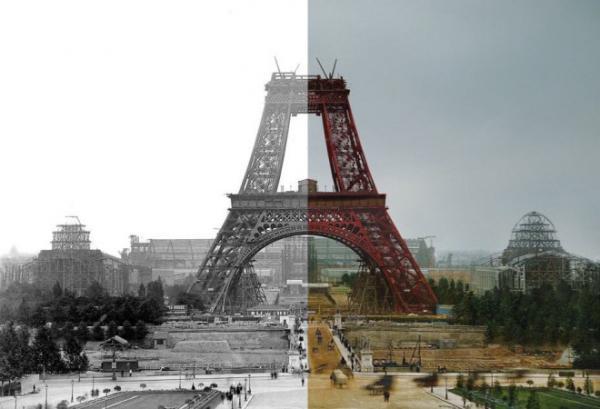 GALERIE - Historické fotky ožívají barvami