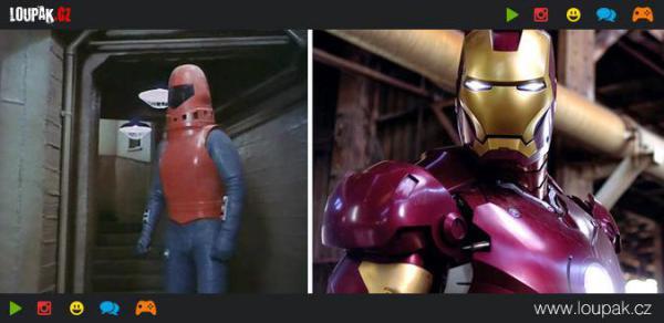 GALERIE - Superhrdinové tehdy a dnes