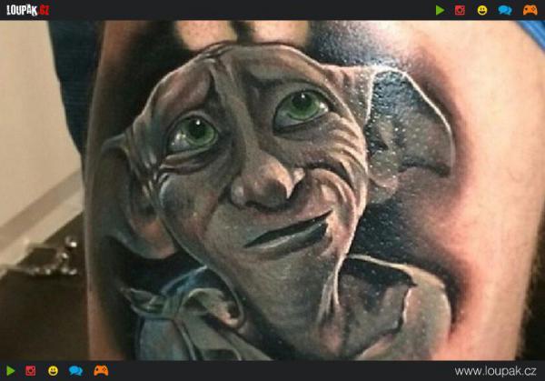 GALERIE - Tetování Harrym Potterem