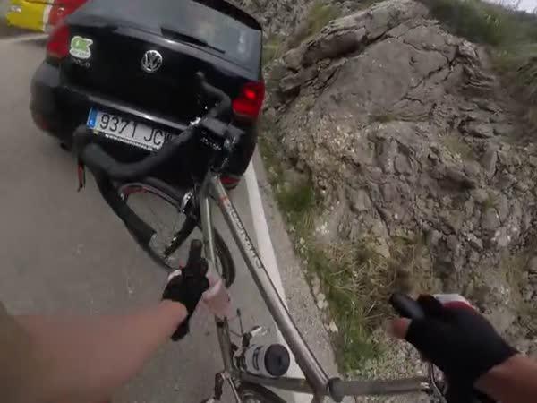Když cyklista nedobrzdí