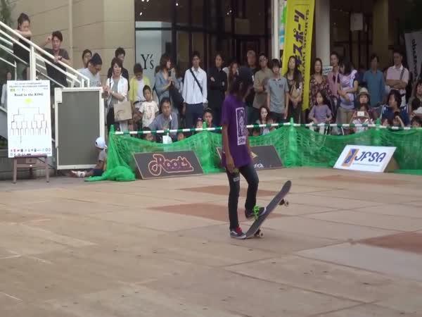 12letý skateboardista oslnil diváky