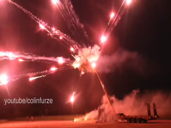 YTBer odpálil Death Star z 5000 raket
