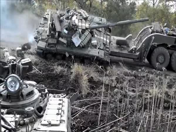 Ruská nakládka tanku