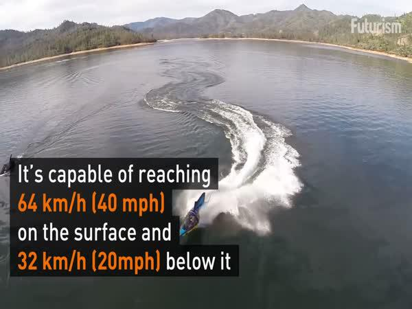 Vodotěsná sci-fi loď