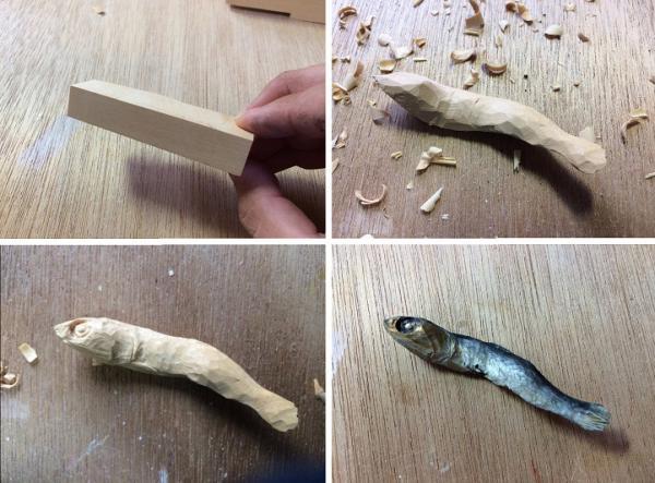 GALERIE - Dokonalé modely jídla ze dřeva