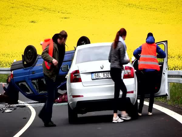 Jak zvládnout dopravní nehodu