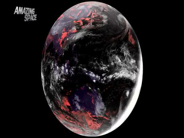 Nejdokonalejší pohled na Zemi z vesmíru