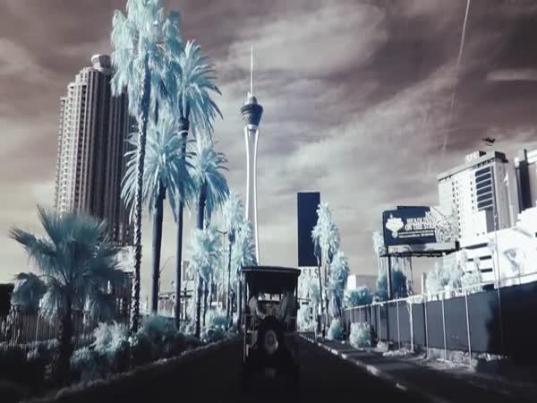 Město a infračervené záření